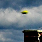 UFO Photographed Over Castel Volturno, Italy