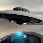 Black UFO spotted over New Jersey