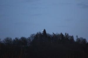 UFO photographed over Scottland