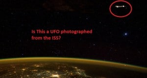 Scott Kelly UFO Photo from ISS