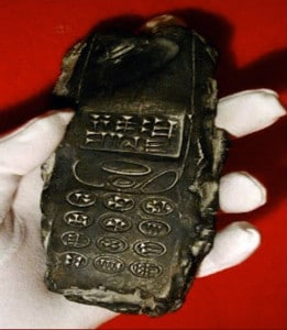 Is this an 800 year old cell phone?